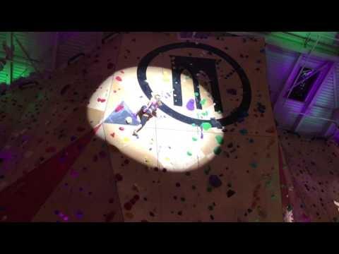 Sasha Digiulian makes rock climbing look so easy at Redbull product launch!