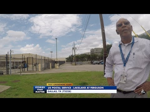First Amendment Audit - US Postal Service - Ferguson & Lakeland (Dallas)