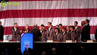 North Star Boys Choir Performs National Anthem At MN GOP State Convention
