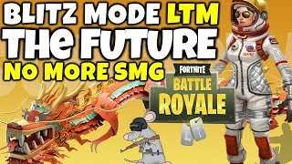 """FORTNIGHT BR NEW LTM MODE """"BLITZ"""" INCOMING REMOVING WEAPONS PERMANENTLY? UPDATE INFO!"""