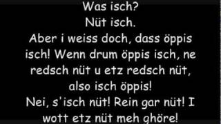 Stiller Has - Was isch? (mit Lyrics)