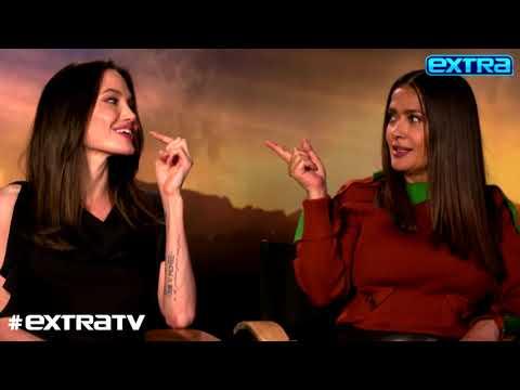 Angelina Jolie & Salma Hayek Reveal How Motherhood Changed Their Lives