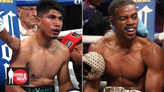 Mikey Garcia is in a win-win scenario even after he loses - Errol Spence Jr. l Stephen A. Smith Show