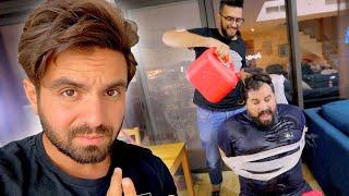 حرق صاحبه في بنزين عشان الشهرة !! 😐 ( قصة واقعية )