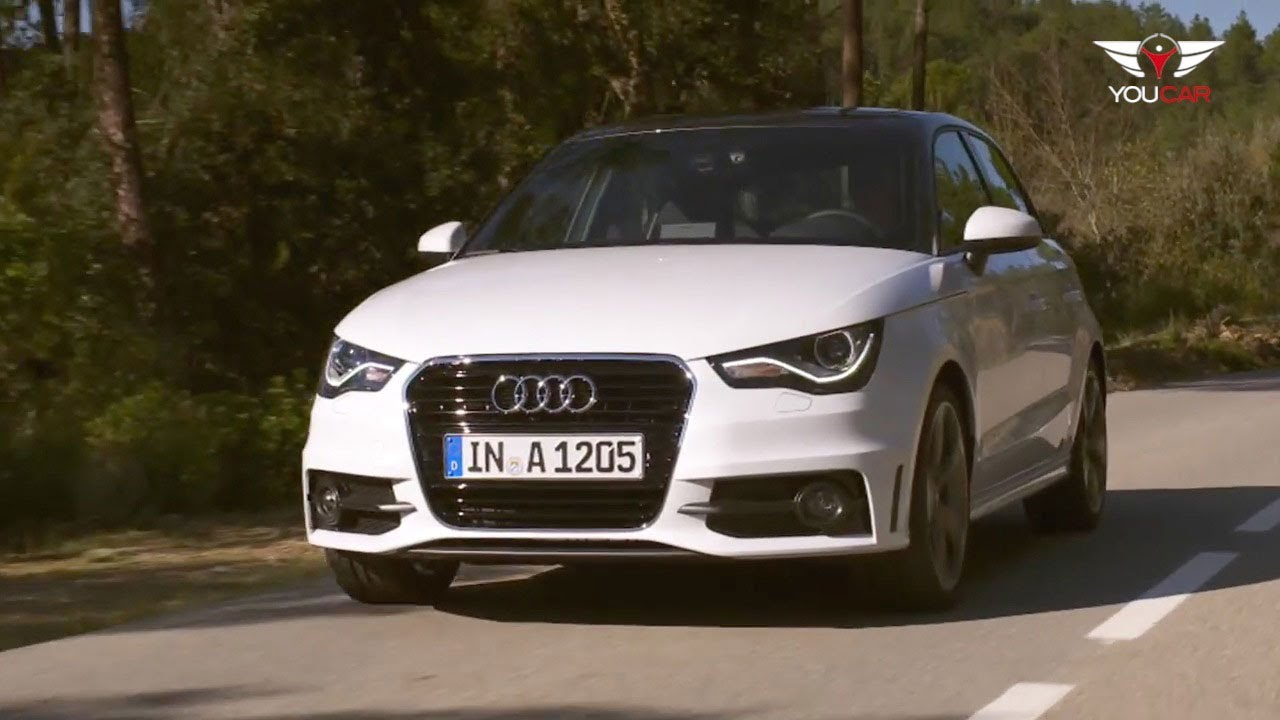 2012 Audi A1 Sportback On The Road