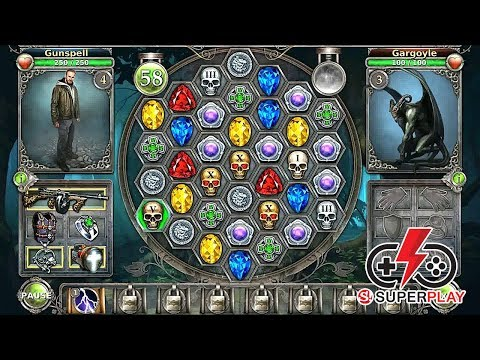 Gunspell - Match 3 Battles Gameplay Android By SUPERPLAY (No Commentary)