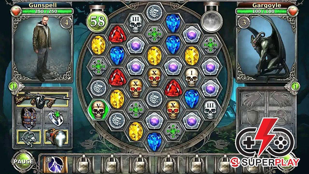 Image result for Gunspell - Match 3 Battles        game pic