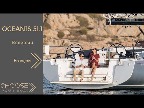 OCEANIS 51.1 - Beneteau : Video de visite guidée en ligne (en français)