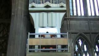"""John Keys organist plays """"Jerusalem"""" (And did those feet...)"""
