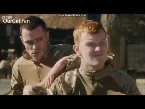 Nick Preston as Mansfield Mike in Our Girl