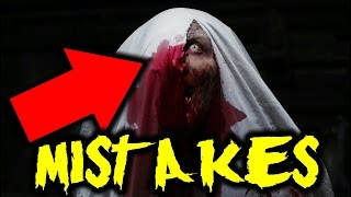 👻10 BIGGEST MISTAKES THE CONJURING MISTAKES 👿