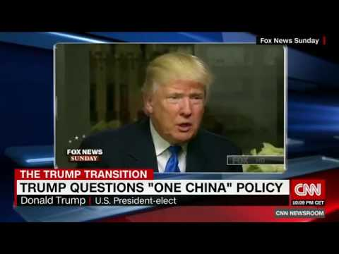 Trump questions 'one China' policy