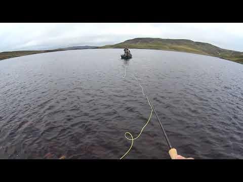 Fly Fishing Loch Lounsey (Loch Lannsaidh), Dornoch, Scotland 28th Annual Fishing Holiday