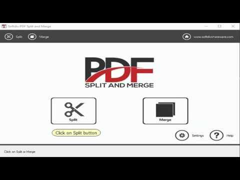 How to Split PDF File