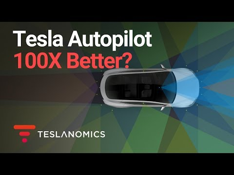Is Tesla Autopilot 100X Further in Self-Driving Race?