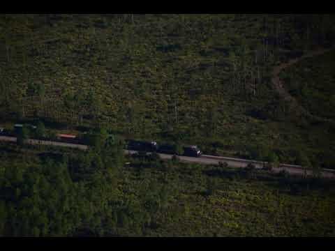 007Train on railroad