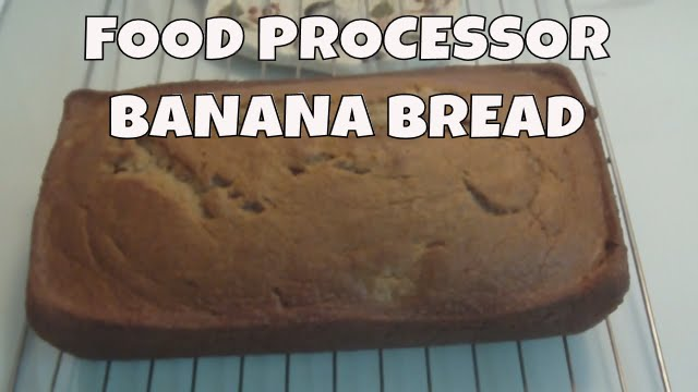 Homemade banana bread using a food processor youtube homemade banana bread using a food processor forumfinder Image collections