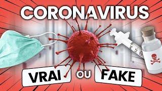 Fermeture des écoles, cause, masques... les rumeurs sur le coronavirus vérifiées