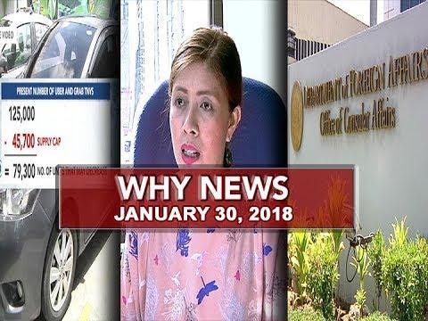 UNTV: Why News (January 30, 2018)