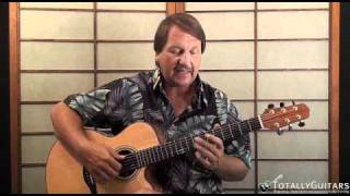 South City Midnight Lady Acoustic Guitar Lesson - Doobie Brothers