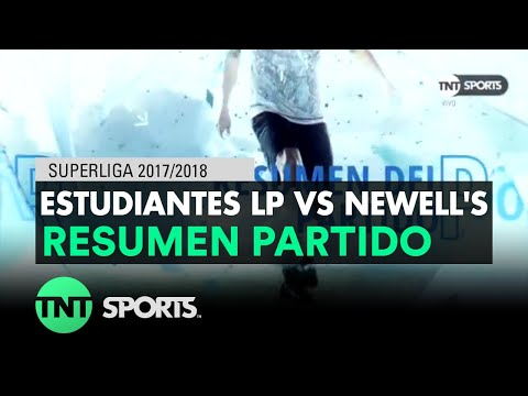 Resumen de Estudiantes LP vs Newell's (4-2) | Fecha 14- Superliga Argentina 2017/2018