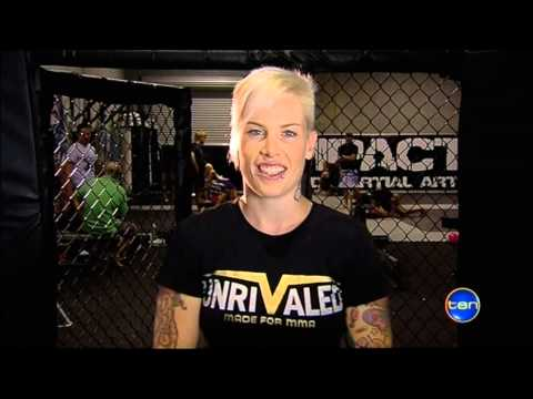 "Female MMA fighter Bec ""Rowdy"" Hyatt interview ahead of her Invicta FC debut"