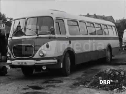 Straßenbahn, Bus Und O-Bus In Weimar, 1980