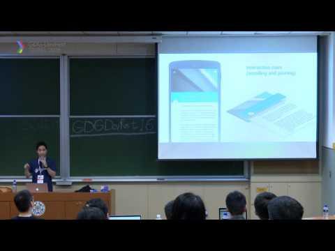 GDG DevFest Taipei 2016 - Session 10301 - Material Design 質感設計