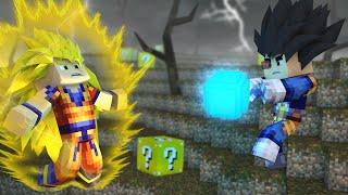 Minecraft - GOKU VS VEGETA ‹ ESCOLHA A PORTA › MINI-GAME (LUCKY BLOCK)