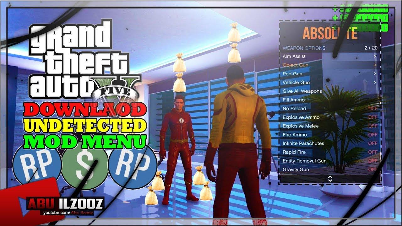 GTA 5 PC Online 1 42 Mod Menu / Absolute Release (Showcase
