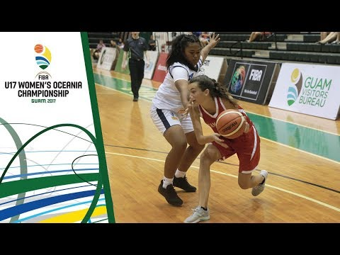 Marshall Islands v Tahiti - Full Game - FIBA U17 Women's Oceania Championship 2017