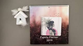 Planners 2019: Unboxing and First Impression Wall Calendar by Personal Planner
