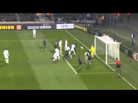 Lyon vs Tottenham - 1-1 - 21_02_2013 Maxime Gonalons Goal