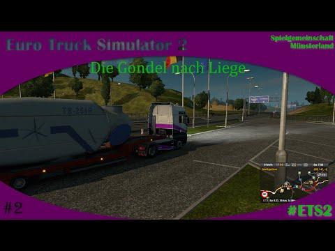 ETS2 #2 die Gondel nach Liege [Multiplayer] [german | deutsch] Euro truck Simulatior 2