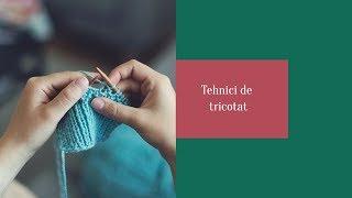 Repeat youtube video Tricotarea și montarea gulerului