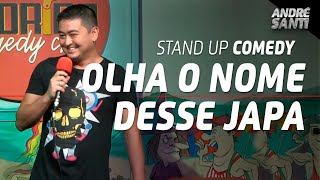 O JAPA QUE VENDE GAMES | André Santi | Stand up Comedy