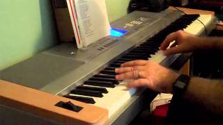 Big Rock Candy Mountain Folk Music on Piano
