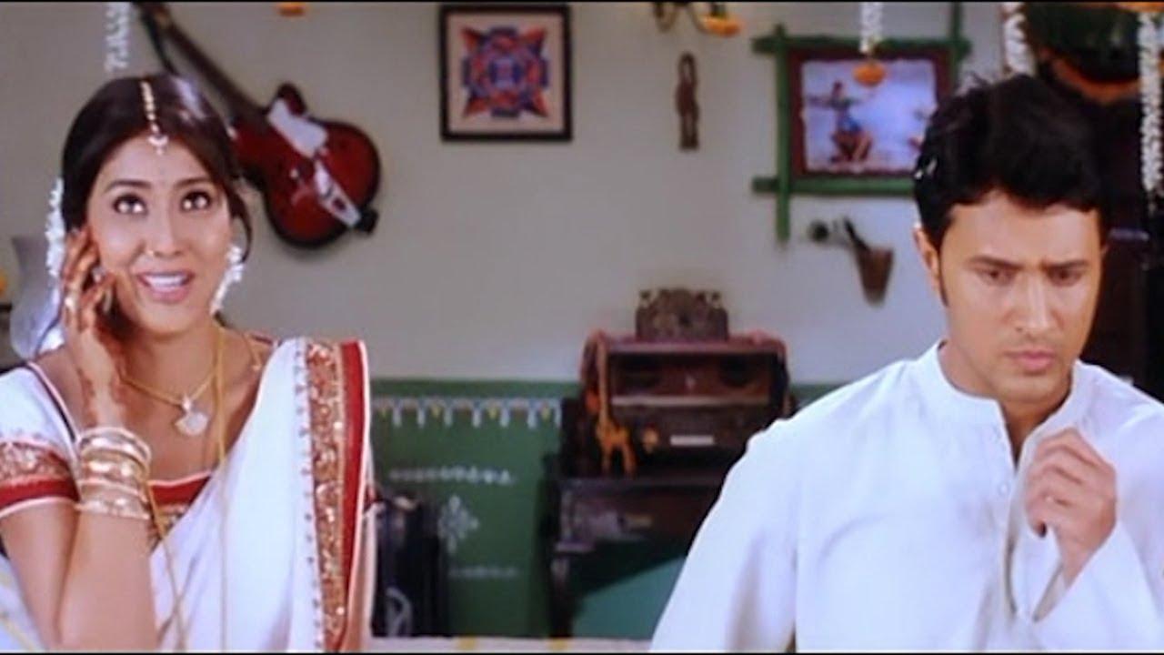 Download Shriya Saran & Raja First Night Comedy Scenes   Comedy Express