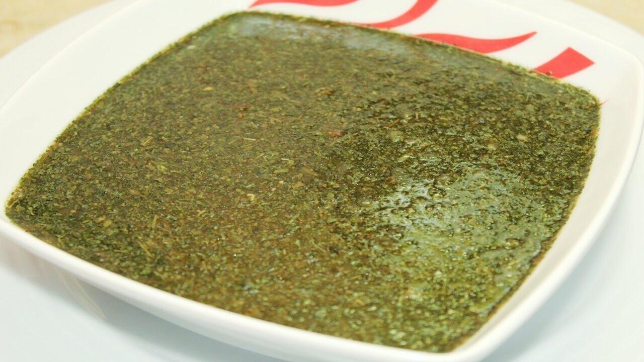 طريقة عمل الملوخية الناشفة - Dry Molokhia