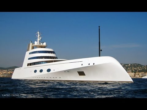 Megayacht designed by Philippe Starck