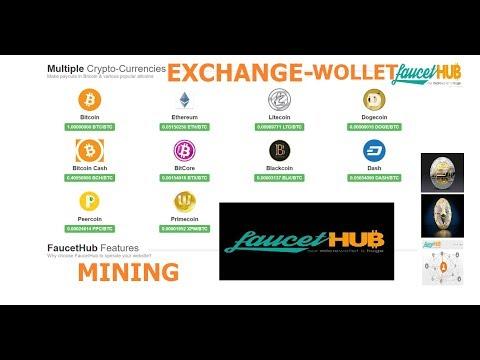 FAUCET Hub | EXCHANGE interno una moneta per un'altra