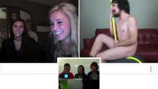 Reaction to ChatRoulette 'Wrecking Ball' - Miley Cyrus