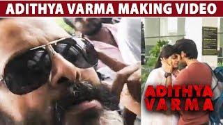CHIYAAN VIKARM visits Adithya Varma's Shooting Spot | Dhruv Vikram | Vijay Devarakonda