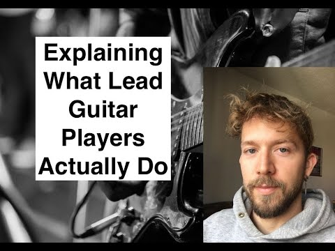 What Is A Guitar Lead - Lead Guitar Explained