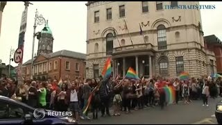 ST: Ireland jubilant after approval of gay marriage