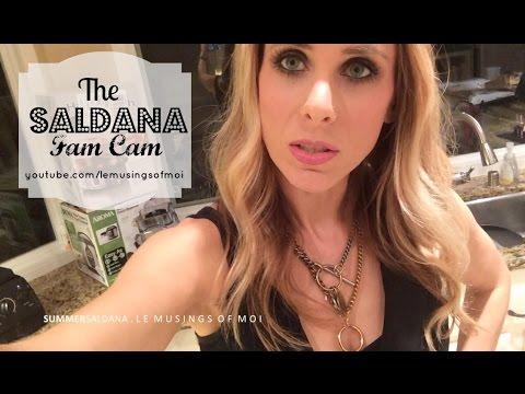 BEACHY WAVES HAIR TUTORIAL | Summer Saldana