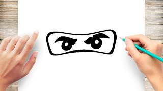 How to Draw Ninjago Eyes