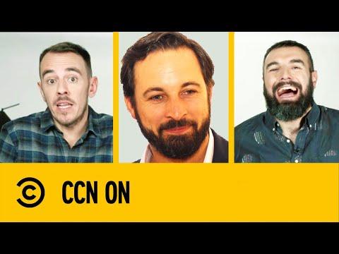 Santiago Abascal: Mucho Mejor Que Hitler, Peor Que Michael Jordan | CCN ON | Comedy Central España