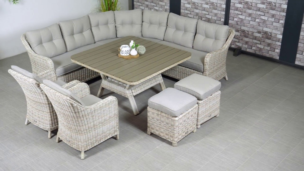 Outliv Milwaukee Dining Lounge Set Garten Und Freizeit De