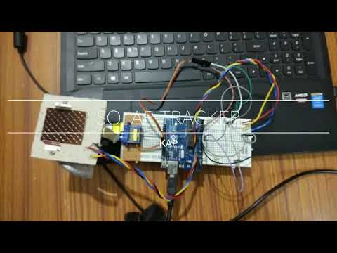 How to make a SOLAR TRACKER Using arduino Uno easily